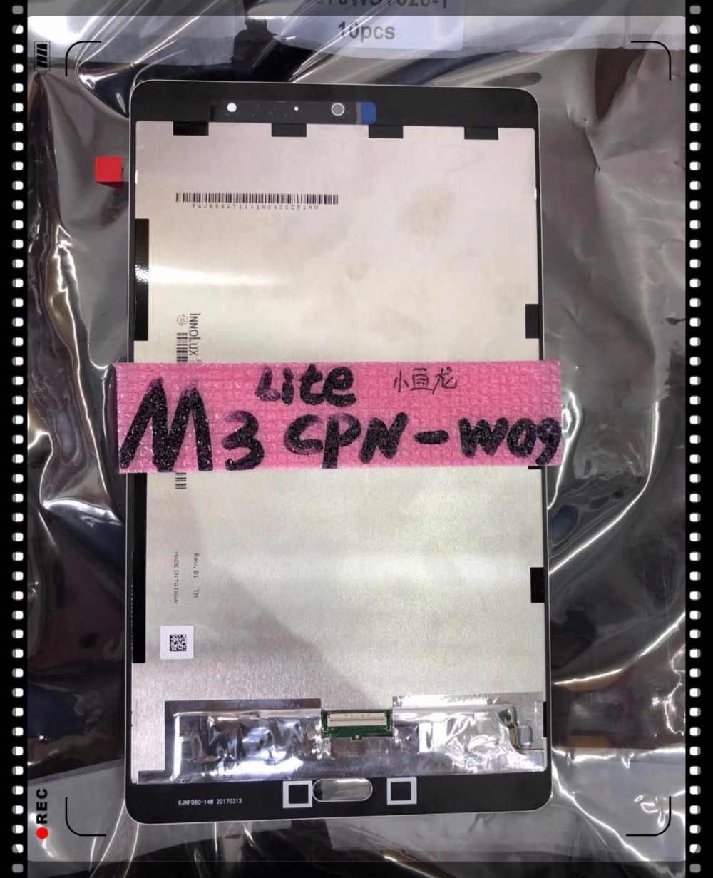 Kualitas tinggi baru asli Untuk Huawei MediaPad Lite 8 8.0 CPN-W09 M3 CPN-AL00 CPN-L09 LCD Display + Layar Sentuh Digitizer Assem