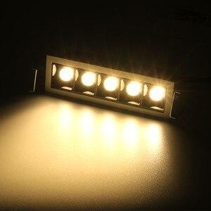 Image 3 - ליניארי להב לייזר LED downlight COB ניתן לעמעום 10 W 20 W 30 W שקוע led למטה אור ספוט תקרת הר פלאש פנים מיני אור