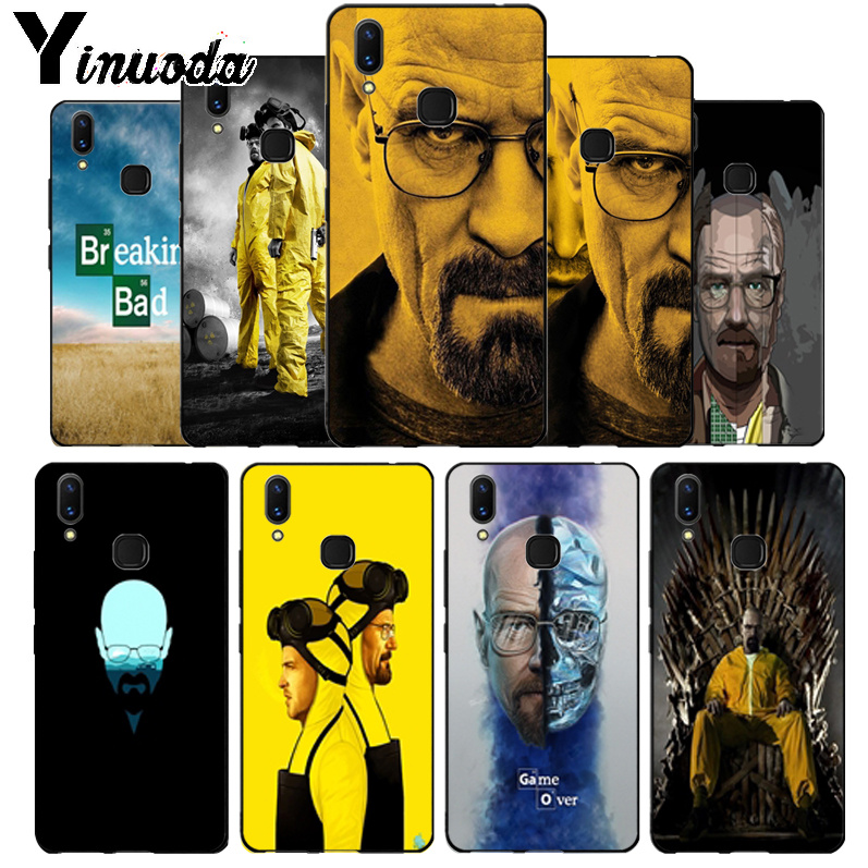 Us 104 30 Offyinuoda Breaking Bad Wallpaper Luxury High End Phone Accessories Case For Vivo V9 V7 Y83 X20 X20plus X21 Plus Nex S Case Coque In
