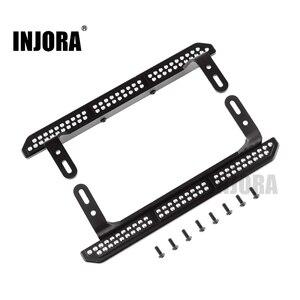 Image 1 - INJORA 2PCS TRX4 Metal Rock Sliders Pedal for 1/10 RC Crawler Traxxas TRX 4 Upgrade Parts