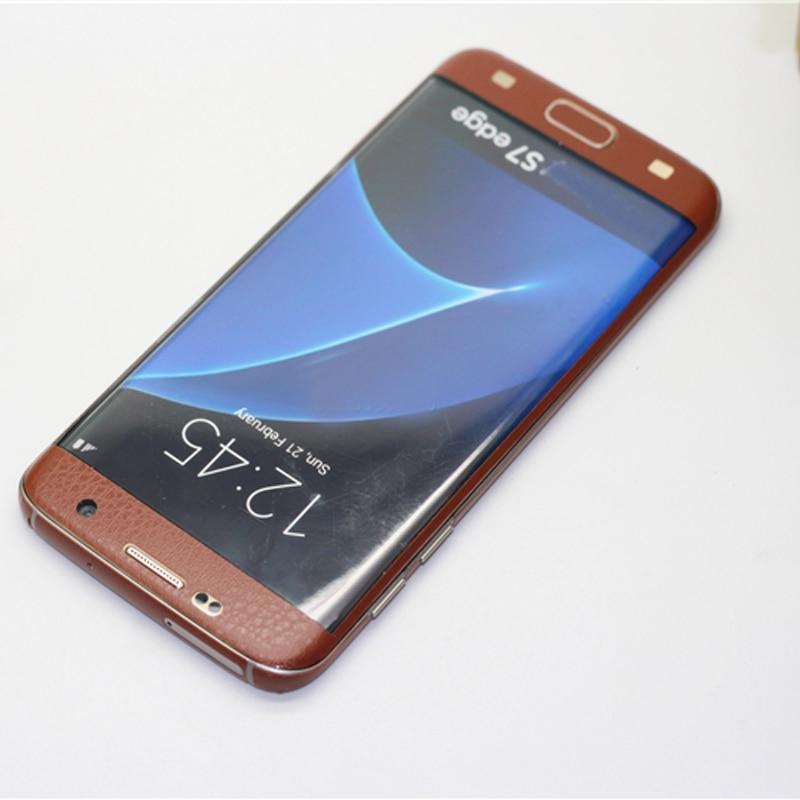 imágenes para Para samsung galaxy s7 edge 3mm pegatina trasera teléfono caso de la contraportada trasera cubierta de la batería (no protector de pantalla) envío Gratis