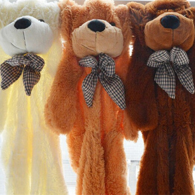 160CM/The oversized 1.6 m hull Teddy bear doll plush toys wholesale bear doll birthday gift 120cm teddy bear hull plush toys teddy bears hull large animal coat wholesale there is no filling free delivery