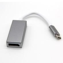 USB C để DisplayPort Adapter USB 3.1 Loại C để DP Adapter chuyển đổi Hỗ Trợ 4 k UHD 1080 p đối với Macbook pro