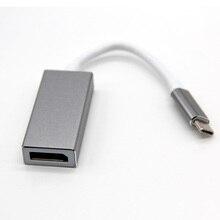 USB C zu DisplayPort Adapter USB 3.1 Typ C zu DP Adapter konverter Unterstützung 4 karat UHD 1080 p für Macbook Pro
