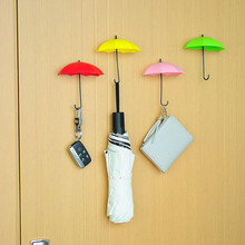 3pcs/lot Umbrella Shaped Wall Hook Storage Racks Holders