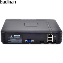 GADINAN Mini NVR 8CH 1080P or 12CH 960P NVR HDMI Network Video Recorder  CCTV NVR ONVIF Motion Detection CCTV NVR H.264 P2P