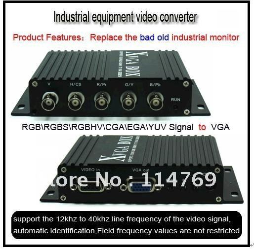 Fanuc industrial monitor replacement ,to VGA XVGA LCD CRT Video Converter for model: A61L-0001-0076  A61L-0001-0077 кришнамурти дж невыбирающее осознавание