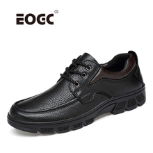 Handmade Genuine Leather Casual Shoes For Men Autumn Winter Breathable Outdoor Dropshipping