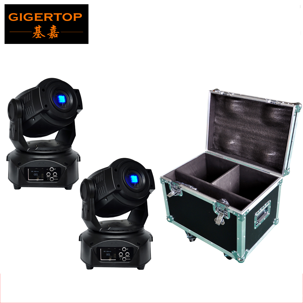 2IN1 Flight Case Pack 2PCS New Moving Head Led Spider Light 60W White Led Party Stage Lighting Huiliang Beam Moving Head Light volta flight case for 2 pcs of la 208 top