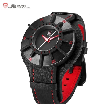 Sport 3D Craft Black Red Top Luxury Watches 1