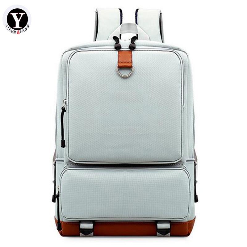 Yirenfang Oxford Laptop Backpack Backpack Wanita Jenama Terkenal - Beg galas