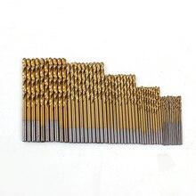 Хвоствик титановым пила деревообработка hss бит покрытием дрель металла шт./компл. стали