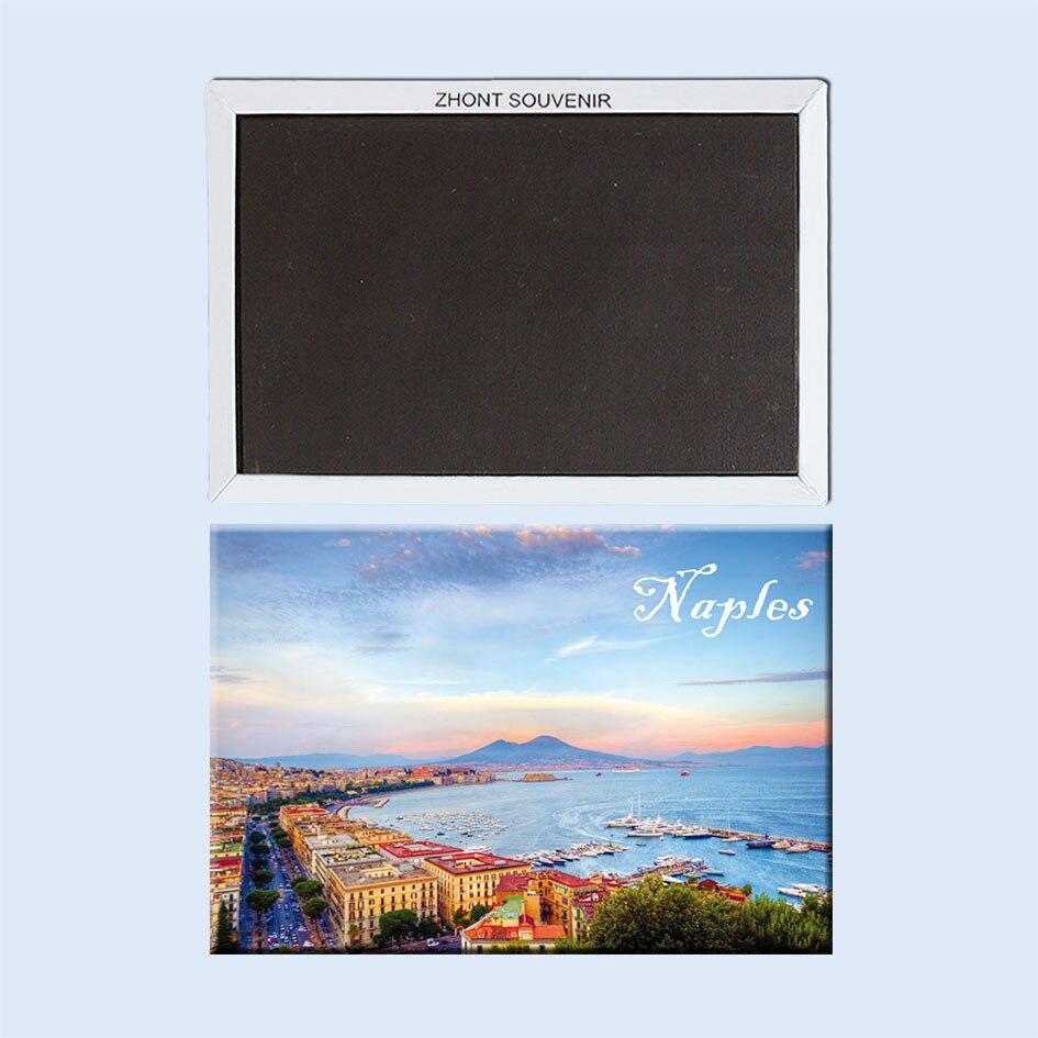 Naples Fridge Magnets 21740 Travel destination Souvenirs in Fridge Magnets from Home Garden