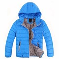 2-10T Fashion Korean Children Jackets Baby Boy/Girl Clothes  Down Coat Baby Winter Warm Coat Kids Thick Hooded Outerwear