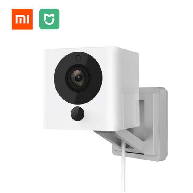 Asli Xiaomi Mijia CCTV Xiaofang Digital Zoom Kamera Ip 110 Derajat F2.0 8X1080 P WIFI Kontrol Nirkabel cam Malam Visi