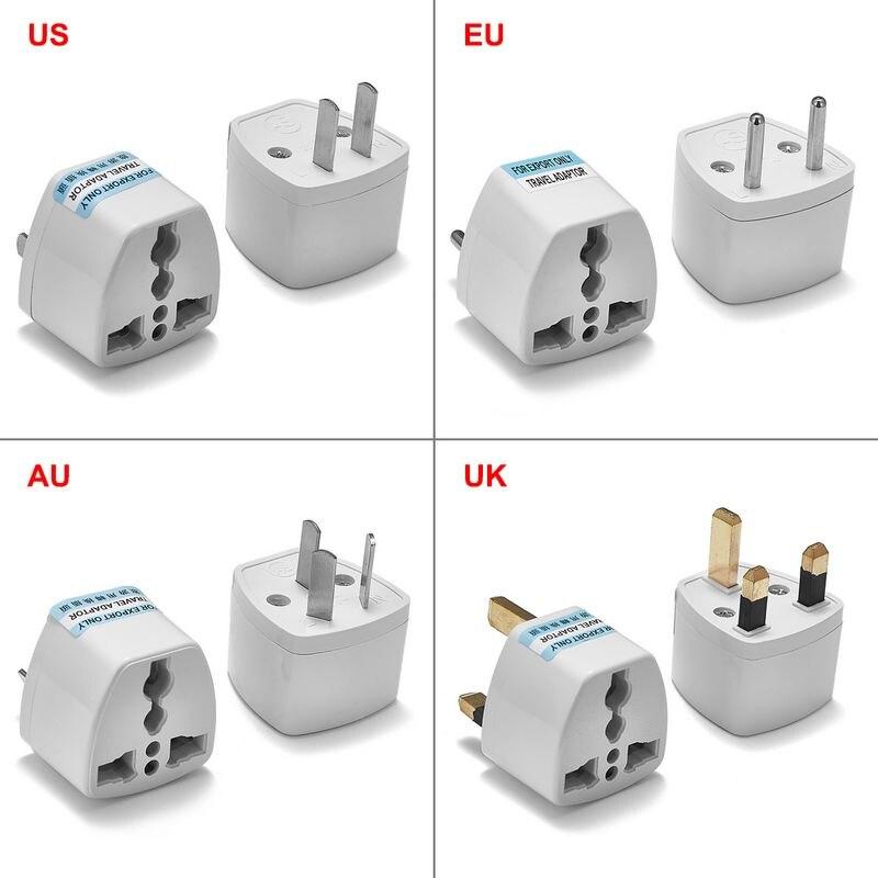 Universal UK US EU AU Plug Adapter American Australian European Travel Power Adapter AC Charger Converter Socket Electric Outlet стоимость