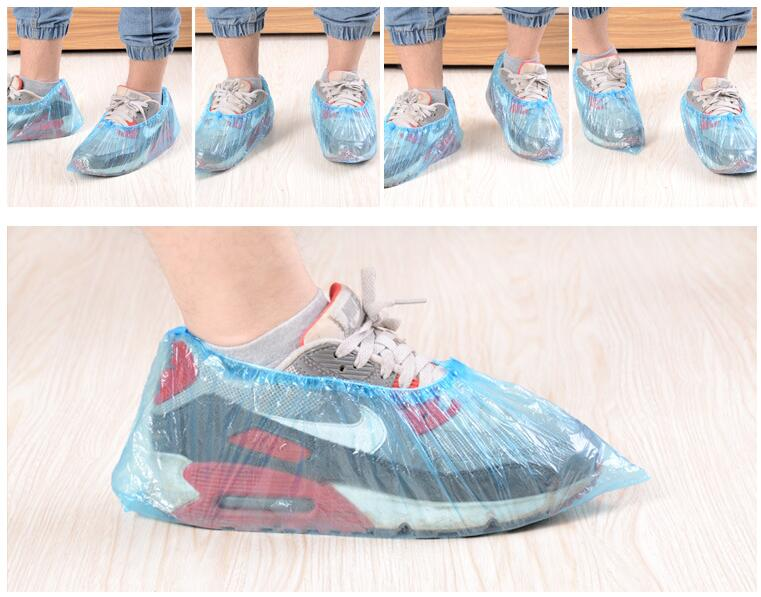 Hot Sell 100 Pcs Wholesale Hotel Family Disposable Shoe Covers Carpet Cleaning Overshoe Guests