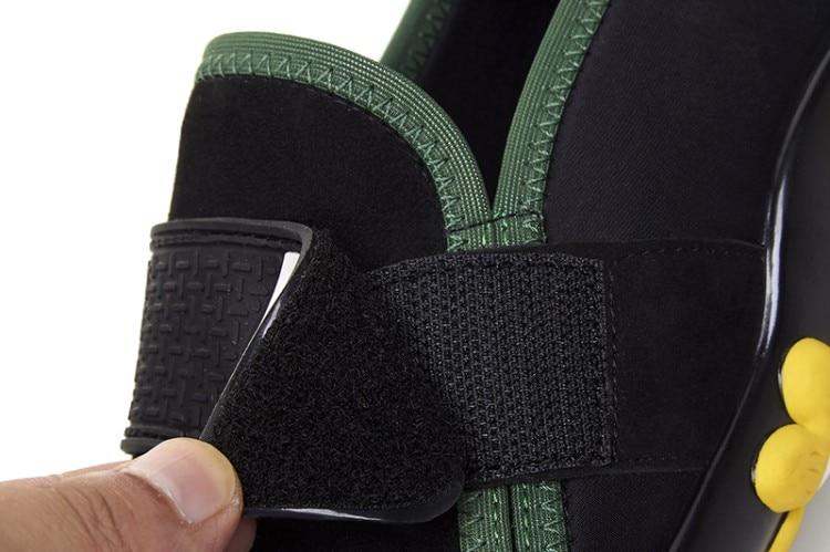 Sportlich HZXINLIVE Samt Mary Jane Schuhe Ketten Decor