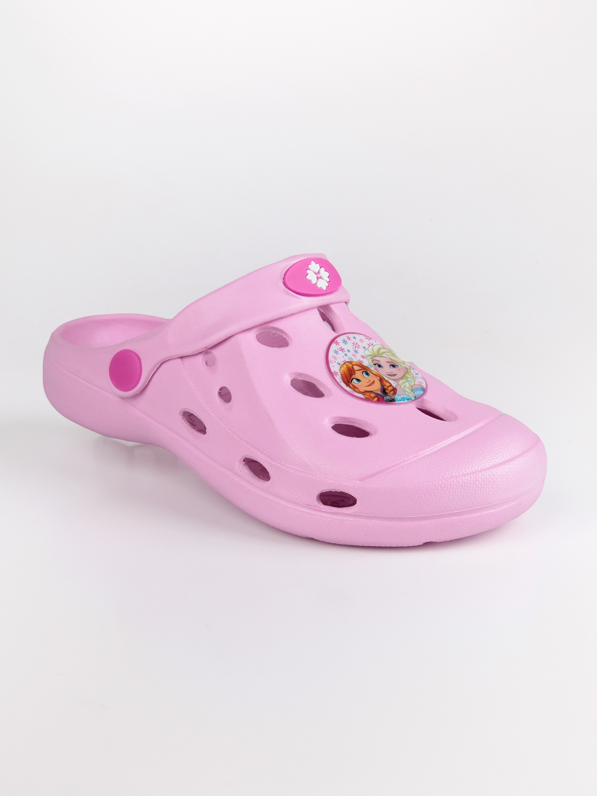 Clogs Anna and Elsa with strap|  - title=
