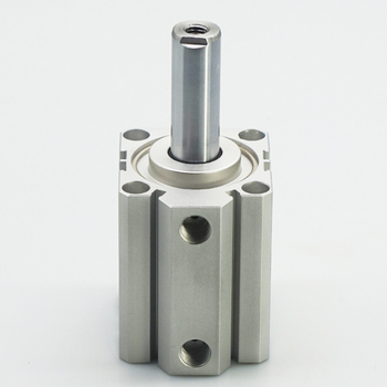 SDA Type Bore 25mm stroke 5/10/20/25/30/40/50/55/60/65/100mm double acting SDA25 compact air pneumatic piston cylinder Female smc type air cylinder cqmb cdqmb bore 25mm compact rod guide pneumatic cylinder components stroke 5 10 15 20 25 30 35 40 45 50m