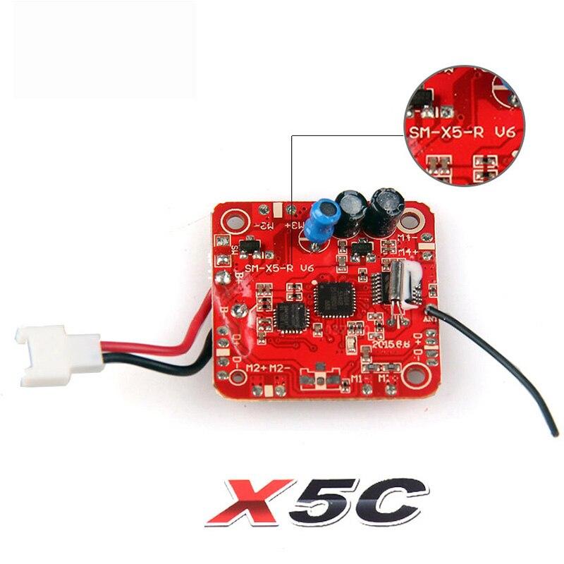 Ricevitore di trasporto libero syma x5c x5c explorers 6 assi 4ch rc ufo quadcopter ricambi accessori parte di ricambio