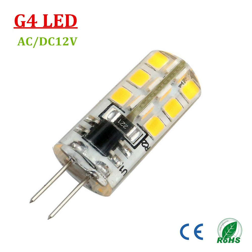 g4 led bulb ac dc 12v warm white cool white 2700 6500k 3 watt bi pin base 32x2835smd led corn. Black Bedroom Furniture Sets. Home Design Ideas