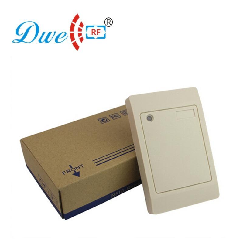 Купить с кэшбэком DWE CC RF Security & Protection 12V rfid 13.56mhz passive access control  wiegand 26/34 proximity card reader