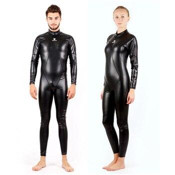 cc4fbe72d6fc Traje de neopreno de 3MM para hombre traje de buceo cuerpo cerrado para  hombre traje de buceo ...