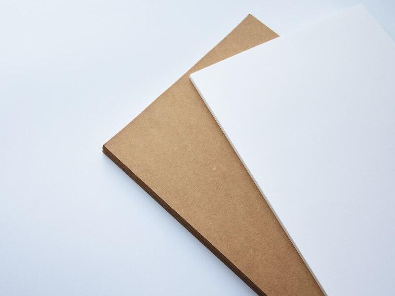 лист бумаги А4 ; коричневая бумага Kraft; бумага Kraft; карта бумага;