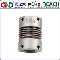 GR Алюминий сплав сильфоны Топ серии Соединительная муфта D16 L27; d1 d2 имеют 4/5/6/6,35/7 Plus/8 мм
