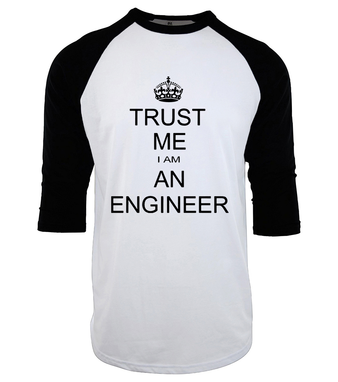 harajuku I Am An Engineer raglan sleeves t-shirt homme man's T-shirt three-quarter sleeve mens t shirt fashion 2019 Camiseta mma