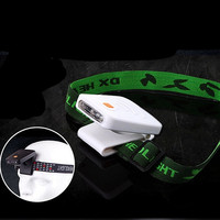 Portable Infrared Sensor Rechargeable Clip Hat Cap Lamp Fishing Headlamp For Travel On Foot Outdoor Camping