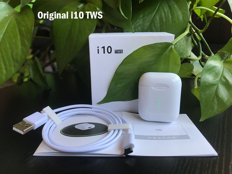 Original Neue Freihändiger drahtloser Kopfhörer i10 tws i9s i100 TWS Bluetooth Kopfhörer 5,0 Wahre Drahtlose Ohrhörer Für Android iPhone