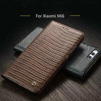 Xiaomi Mi 6 Case New Luxury Original Brand Genuine Crocodile Leather Phone Case For Xiaomi M6