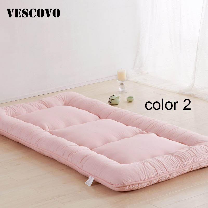 Bed Mattress Cushion Plush Pad