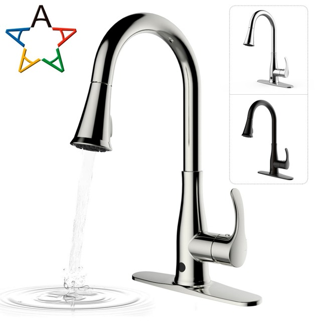 Atalawa Touchless Motion Sensor Kitchen Sink Faucet With Dual Mode