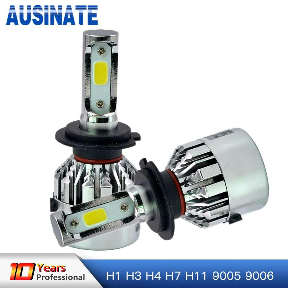 LED H7 Car Headlight Bulbs Kit 6500k 72W 8000lm Mini Spotlight For Automotivo Light Led Lamp Waterproof Auto Fog Lamp