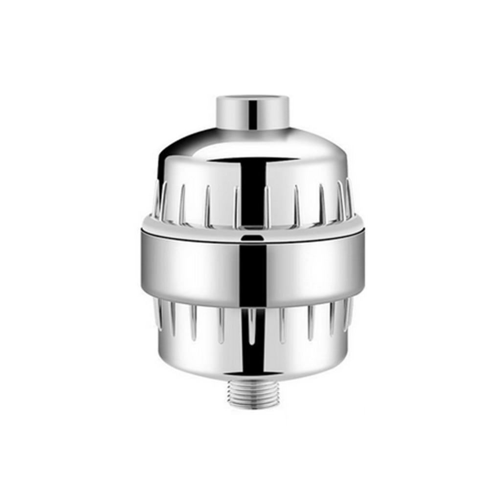 Stainless Steel Bathroom Shower Filter Water Filter Purifier Softener Chlorine Removal Shower Filter for Health Bathing