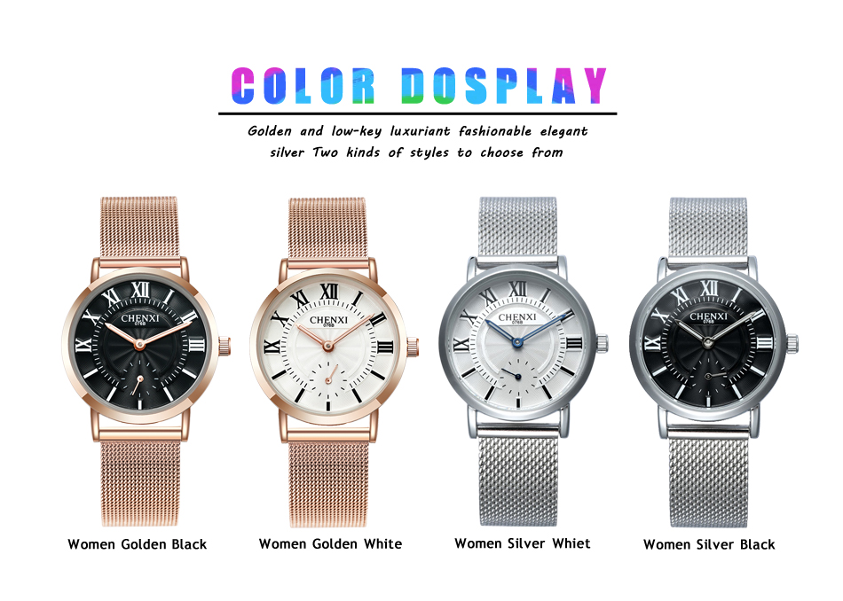CHENXI New Fashion Brand Women Golden Quartz Watches Top  Luxury Female Jewelry Quartz-watch Clock Ladies Wristwatch 2018 Multan