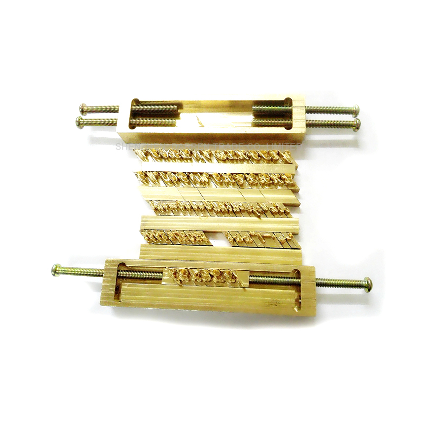 hot Foil Stamping Machine,number,symbol Customization Font,character Mold Reliable Performance Woodworking Machinery & Parts Brass Flexible Letters,cnc Engraving Mold