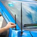 Черные автомобильные аксессуары SHINEKA, 19 см, 33,5 см, автомобильный FM-AM радиосигнал, металлическая Модифицированная антенна для Ford F150 2015 +