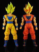 Dragon Ball Z xingchuangmodel SHF Super Dragon Ball Super Saiyan 1 SDCC hair orange yellow hair