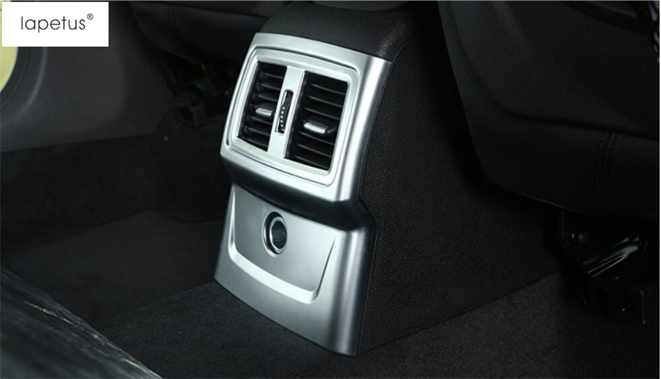 Armrest Box Rear Air Vent Cover For BMW X1 F48 Interior ABS Accessories Trims