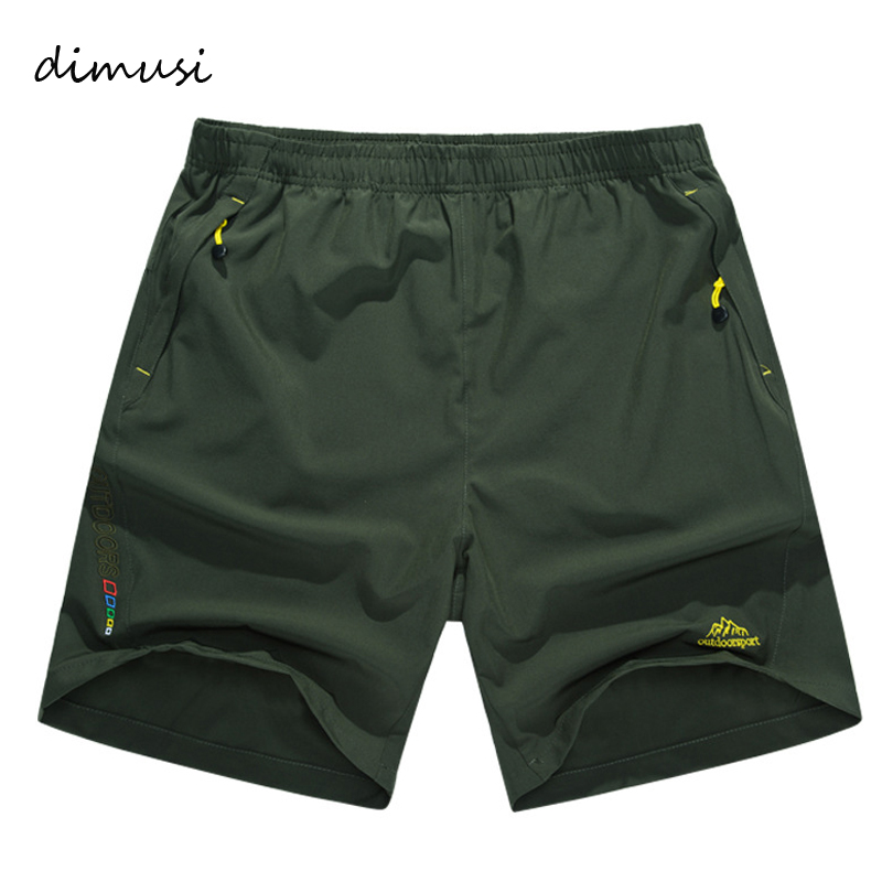 DIMUSI Quick Dry Men's Shorts Summer Mens Beach Shorts Casual Male Breathable BoardShorts Homme Brand Clothing 6XL 7XL,8XL,TA066