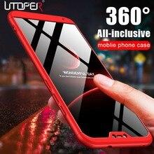 Telefon kılıfı Için Oneplus 6 T Kılıf Lüks Kapak Oneplus Için 6 T Durumda 360 Orijinal Darbeye Zırh Kapak Için Tek artı 6 5 5 T ...