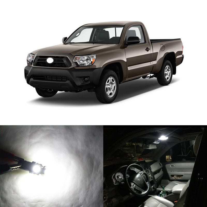 Direct Fit For Toyota Tacoma 2005 2015 WHITE Led Interior