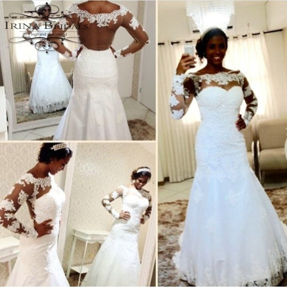 African Black Color Bridal Off The Shoulder Lace Appliqued