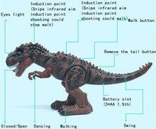 Jurassic World Infrared Remote Control Rc Luminous Sounding Tyrannosaurus Rex Dinosaur