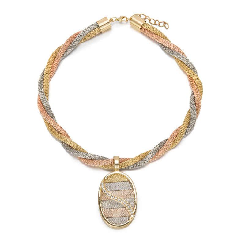 MUKUN Мода африканские бусы Ювелирные наборы Цепочки и ожерелья браслет серьги кольца имитация вечерние свадебные золотые Цвет свадебные аксессуары