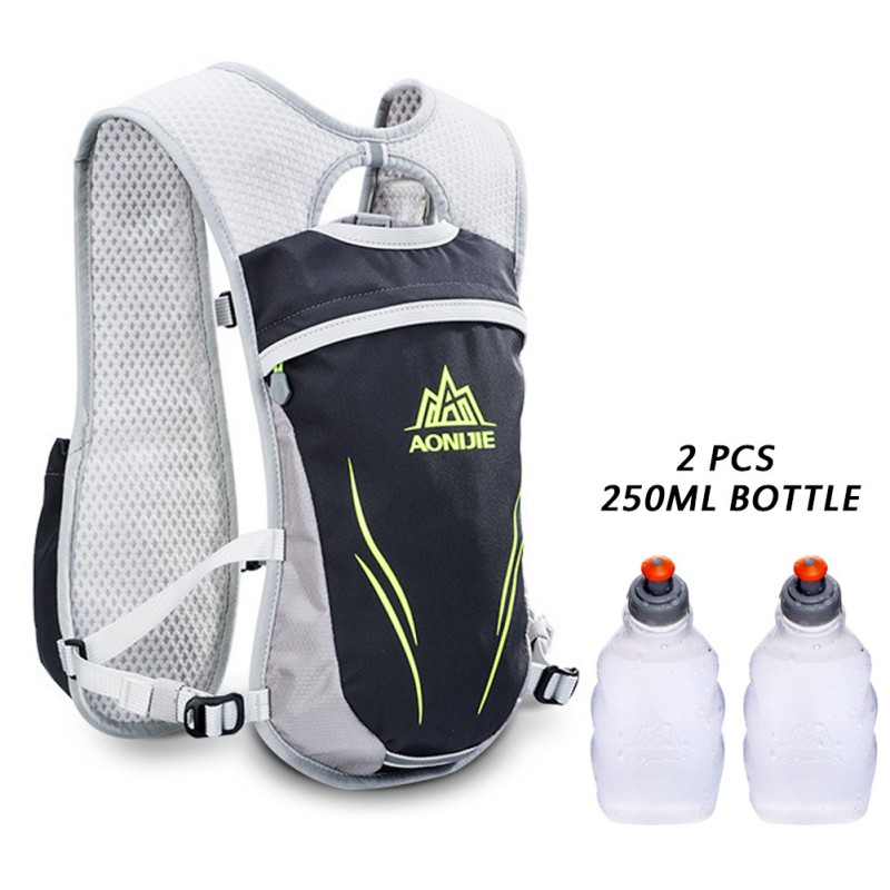 55L Running Bag Outdoor Nylon Backpack Climbing Hiking Cycling Accessories With Water Bottle Sport Bag 2018 new arrival